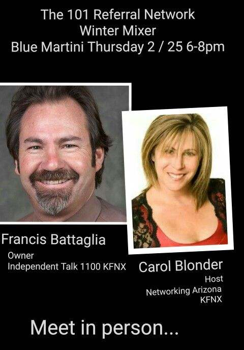The 101 Referral Network Winter Mixer 2/25