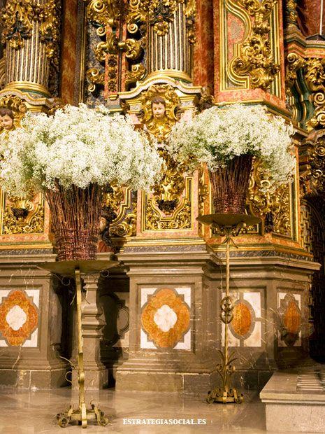decoracin de iglesias