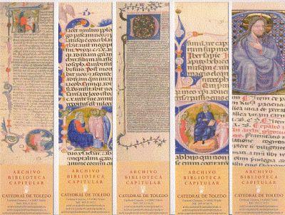 Monton de Marcapaginas: Archivo Biblioteca Capitular de la Catedral de Toledo