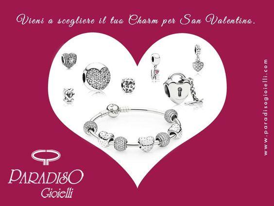 Per #SanValentino arriva dritto al #cuore con un #gioiello della nuova #collezione #Pandora!!! #Regali unici per momenti #romantici!!! #Bracciali #Anelli #Charms #Collane #Pendenti #Amore #Love