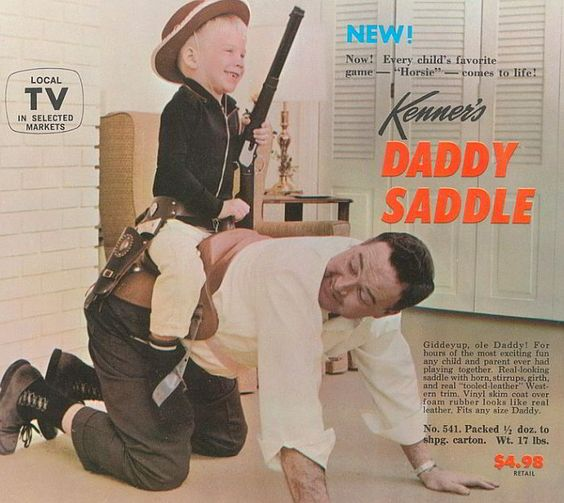 Daddy Saddle, by Kenner!