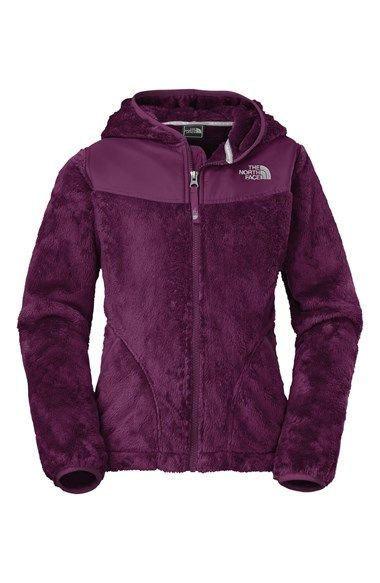 The North Face 'Oso' Plush Fleece Hooded Jacket (Big Girls) at ...