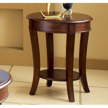 Steve Silver Troy End Table by Steve Silver Furniture. Save 34 Off!. $144.74. Corner Blocked Construction. Tongue and Groove Joints. Made in China. Traditional Style. Rich Multi-Step Cherry Finish. What is included:End Table (1) The Troy End table is simple elegance. Its oval shape and open shelves create the appearance of a larger space. Elegant pastoral comfort exudes from this finely-crafted cocktail table.