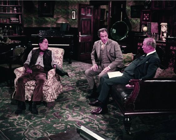 Still of Rex Harrison, Stanley Holloway and Wilfrid Hyde-White in My Fair Lady (1964)