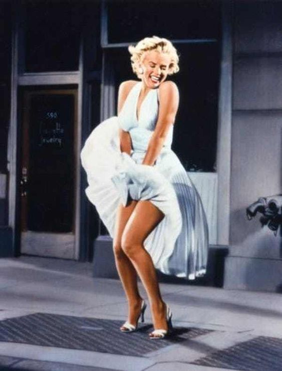 Wind Makes Marilyn Monroe a Di... is listed (or ranked) 1 on the list The 26 Hottest Photos of Marilyn Monroe