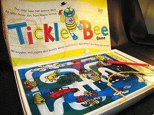 tickle bee game 1956 | Vintage Tickle Bee Game 1956 Schaper | eBay