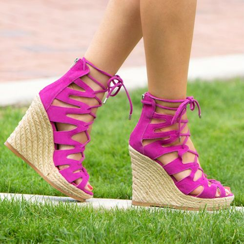 Suedes with Espadrille Theea