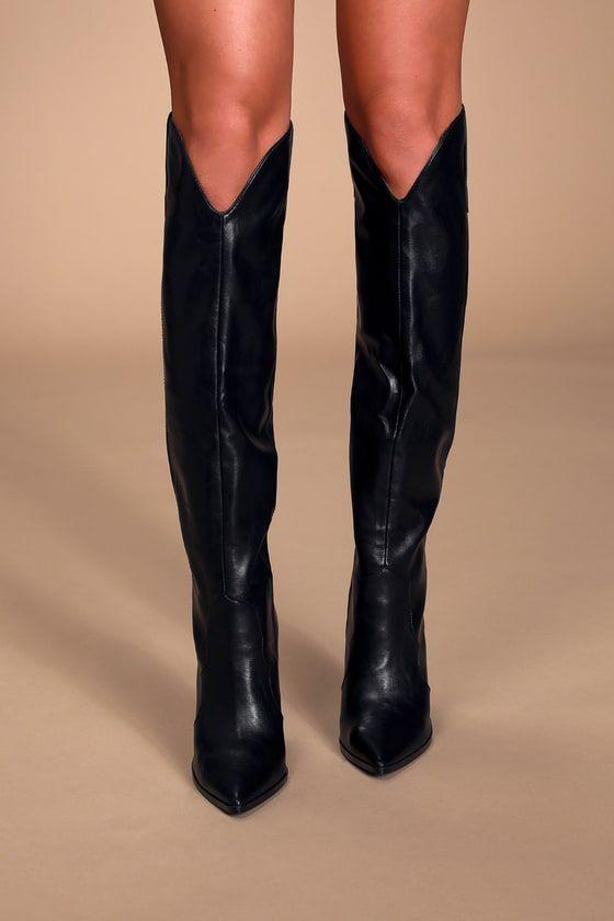 Steve Madden Ranger - Black Boots