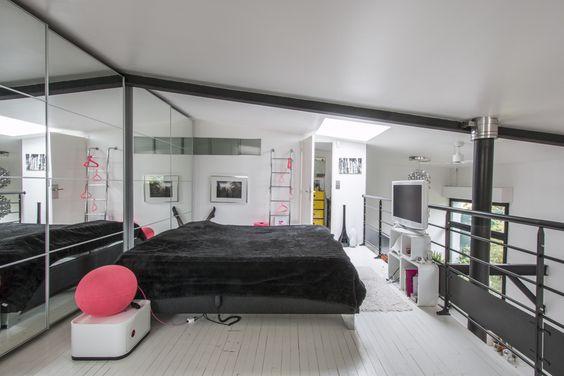 Apartamento tipo loft ultra moderno ideas y planos de for Casa moderna tipo loft