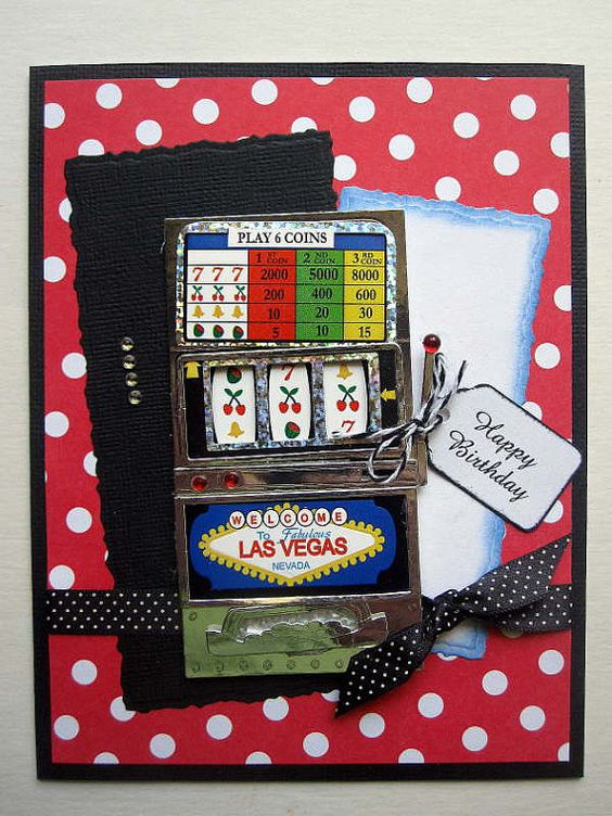Slot machine, Birthday cards and Feminine