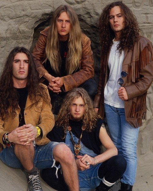 Alice In Chains First Official Major Label Photo Session 1990