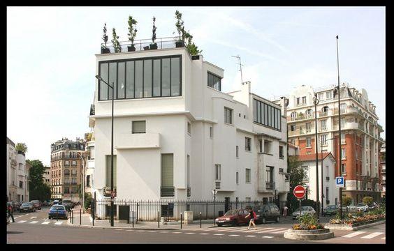 Hôtel du peintre Alfred Lombard (1927) Boulogne-Billancourt Architecte: Pierre Patout