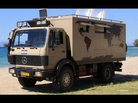 Mercedes expedition truck for sale youtube camper for Mercedes benz camper for sale