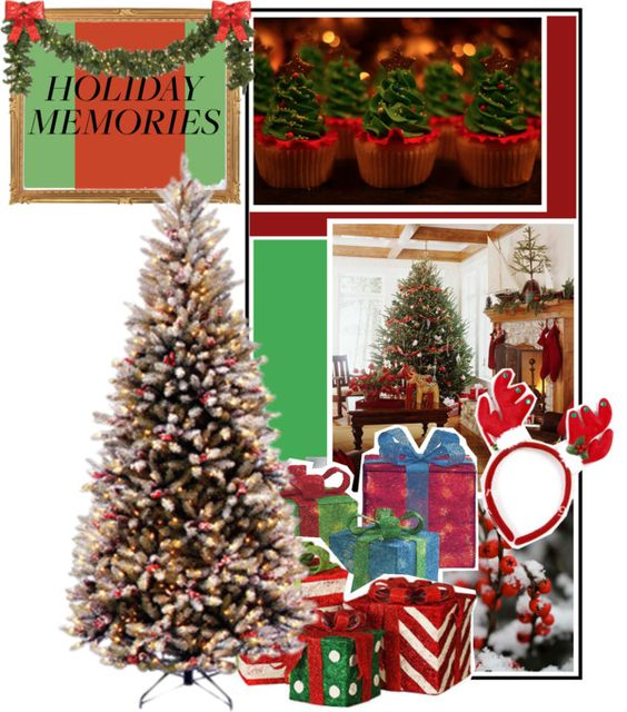 """""""HOLIDAY MEMORIES"""" by muffinthief ❤ liked on Polyvore"""