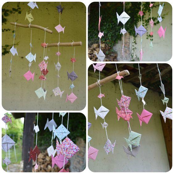 Peces de origami paso a paso | Elenarte