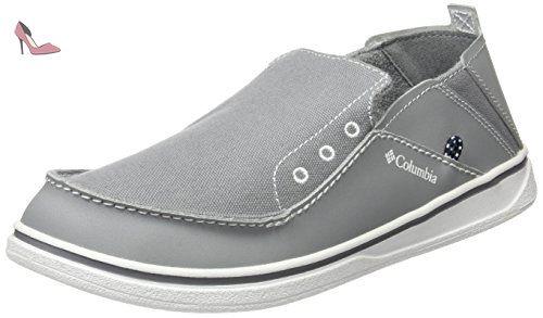 Columbia Davenport Waterproof Leather, Chaussures à Lacets Homme, Marron (Elk, Nutmeg 286), 44.5 EU