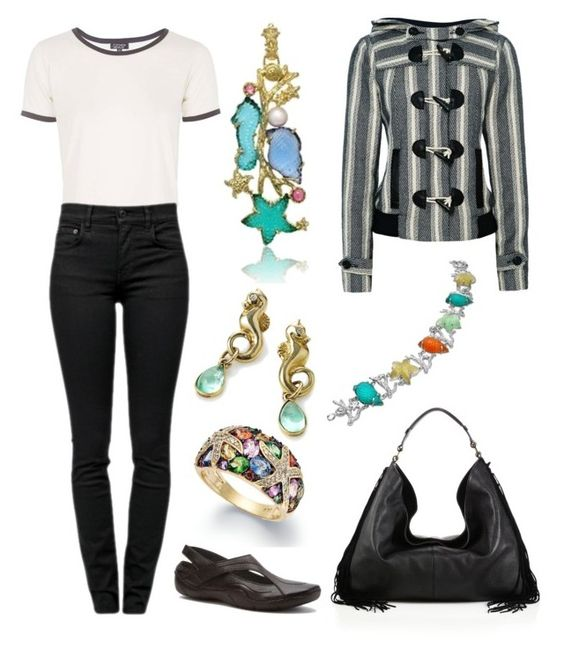 """She always has the beach on her mind..."" by karen-galves on Polyvore featuring Effy Jewelry, Topshop, Proenza Schouler, Sea, New York, Propét, Rebecca Minkoff, Tagliamonte and Serena Fox"