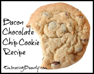 Bacon...yes Bacon Chocolate Chip Cookies