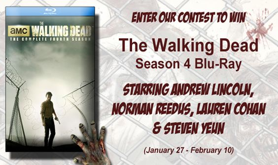 Win The Walking Dead Season 4 Blu-Ray DVD  http://twdfansite.com/win-walking-dead-season-4-bluray-dvd/ | The Walking Dead AMC
