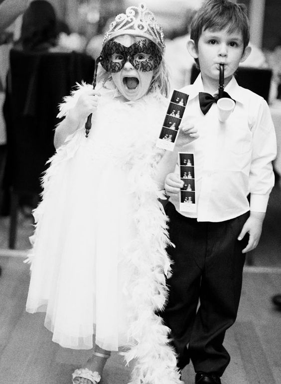 Adorable flower girl and ring bearer! Photo by Jemma Keech Photography. www.wedsociety.com #wedding #photomoments