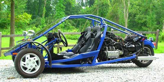 Homebuilt Trike The Xzilarator Reverse Trike Trike Motorcycle Trike