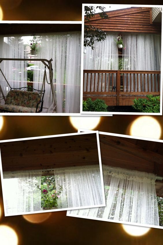 Outdoor Curtains 5 Pair From Ikea Galvanized