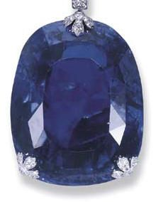 Queen Marie of Romania's sapphire - 478 carats