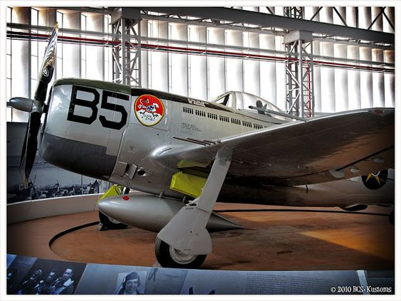 Restored 1st GAVCA P-47 Thunderbolt.