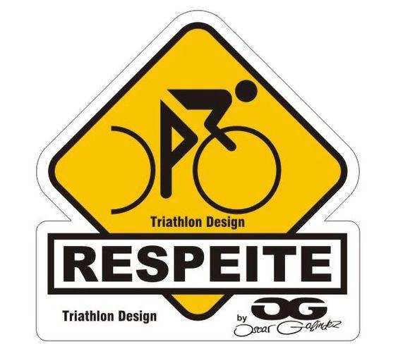 Respeitar o ciclista é ter respeito à vida #respeito #ciclismo #bike