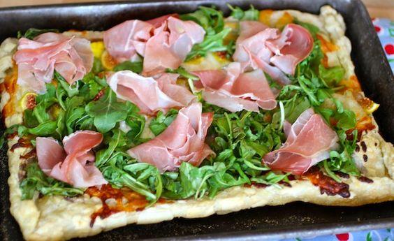 Arugula, Fig and Prosciutto Tart | Recipe | Prosciutto, Figs and Tarts