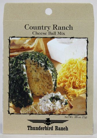 Country Ranch Cheese Ball – Thunderbird Ranch Gourmet Foods