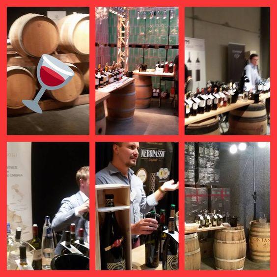 Sfeer foto van de wijndegustatie! Als klant van Vins du Monde kan je hier meer dan 500 wijnen proeven en van meer dan 100 wijnhuizen! Al deze wijnen kun je natuurlijk bestellen bij Vinopio.be