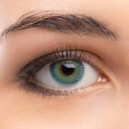 Gaea Blue Colored Contact Lenses Brown Contact Lenses Coloured