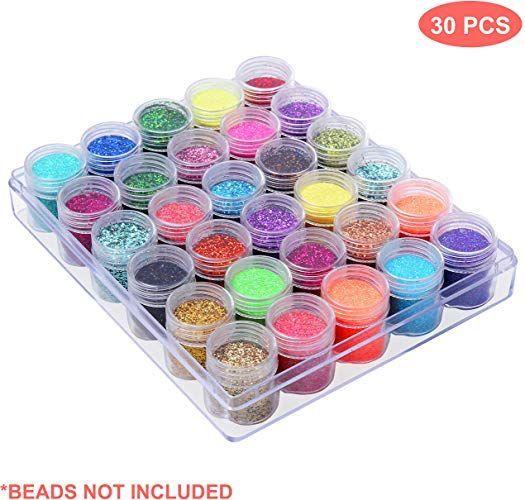 Petites Boites Plastique Rangement Perles Pots De Rangement Avec Compartiment Petites Boites Plastique Rangement Perles Pots De R In 2020 Supplies White Out