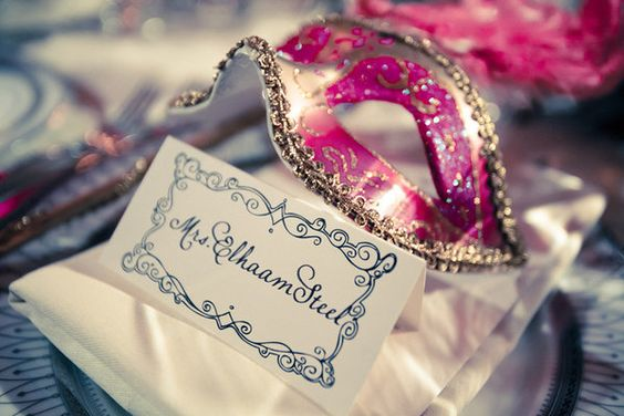 must do a masquerade party sometime...