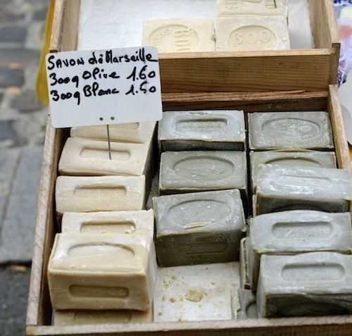 MaiTai's Picture Book- Savon de Marseille, southern french market