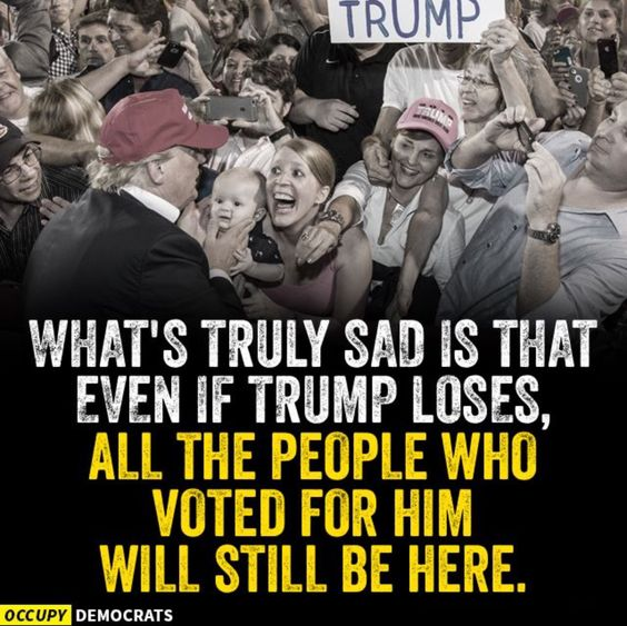 In a Democracy, the majority rules. Thank God that the majority is for TRUMP! Too bad there are going to be Anti-Americans that don't support what the majority wants. THEY are what is WRONG with America. It's a shame!