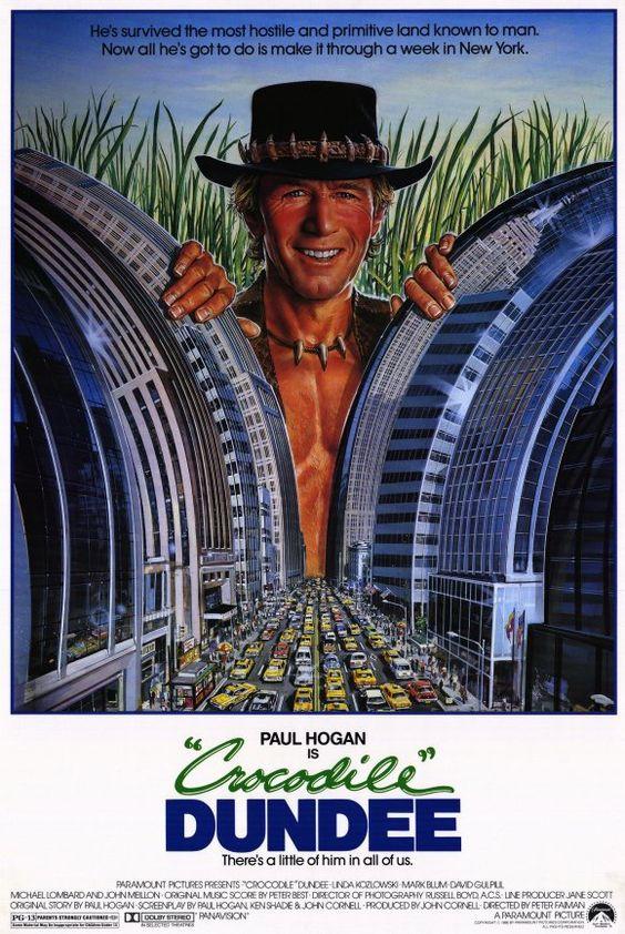 Crocodilo Dundee - 1986
