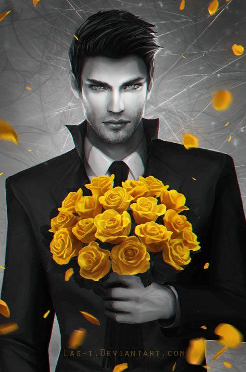 Leeroy - Flowers Never Lie - Cover Art by LAS-T.deviantart.com on @DeviantArt  Perfect Rhysand