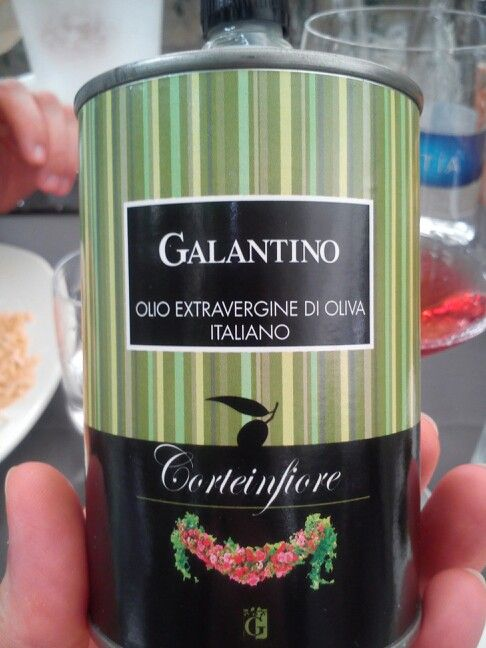 Perfect packaging for olive oil!