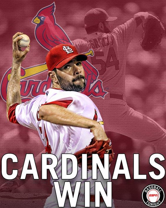 St. Louis Cardinals get a solid start from Jaime Garcia (7 IP, 2 H, 0 R) as St. Louis takes 3 of 4 from the Phillies.