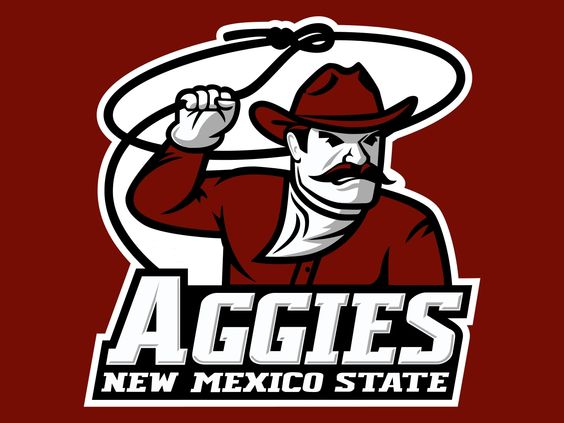 Image result for new mexico state aggies logo colored background