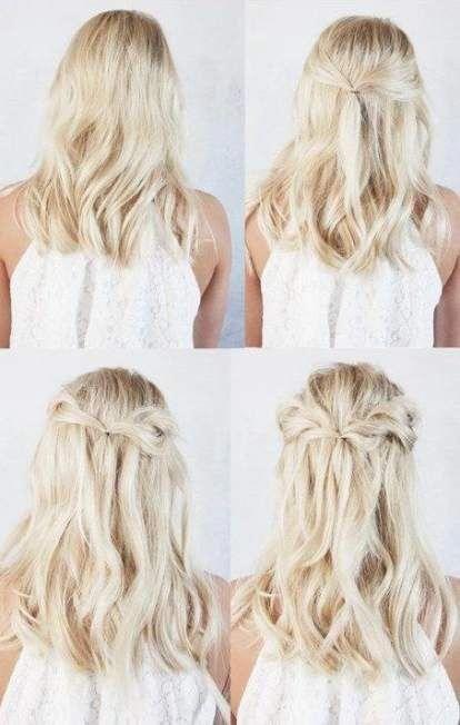 Best Hairstyles Bridesmaid Long Hair Simple Up Dos 62 Ideas Hair Hairstyles Longhairstyles Bridesmaid Hair Long Diy Bridesmaid Hair Hair Styles