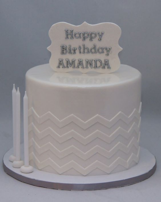 2D gum paste birthday plaque keepsake cake topper