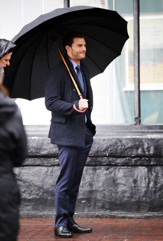 Jamie Dornan And Dakota Johnson Make On The Set Of 'Fifty Shades Darker' - Socialite Life