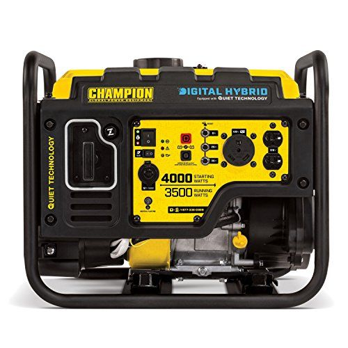 Champion 4000 Watt Rv Ready Dh Series Open Frame Inverter With Quiet Technology Useful Tools Store Inverter Generator Open Frame Portable Generator