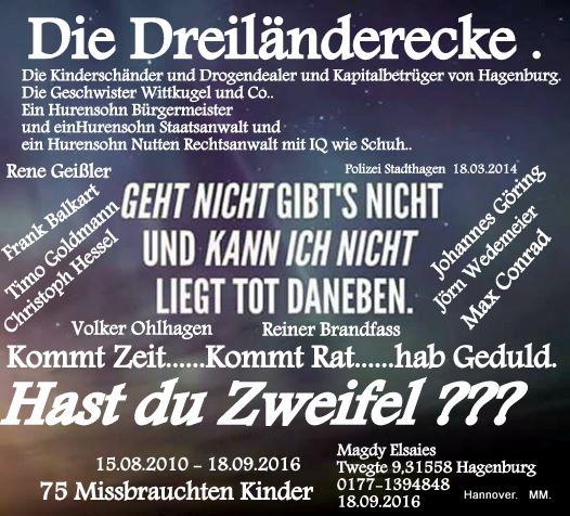 Die Geschwister Wittkugel und die Dreiländerecke Betrugs Plan von 15.08.2010…