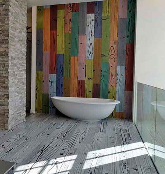30 Ideas para escoger el Suelo de Nuestra Casa. #baño #bathroom