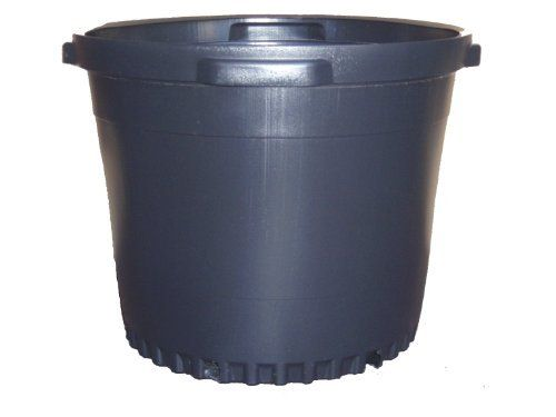 7 NEW Plastic Nursery 15 Gallon Trade POT ~ Actual Volume: 13.4 Gallons by Nursery Supplies. $64.95. Pot dimensions (17 1/4 Inch Diameter x 15 inch Depth). Known as a 15 gallon trade pot and they are used by nurseries.. These Pots Actually Hold An Actual Volume Of:  13.4  gallons gallons and not 2 full gallon. Quantity : 7 pots. These are blow-molded pots (model C6900). Nursery pots are great for use in any garden indoors or outdoors and they can be cleaned and reused a...