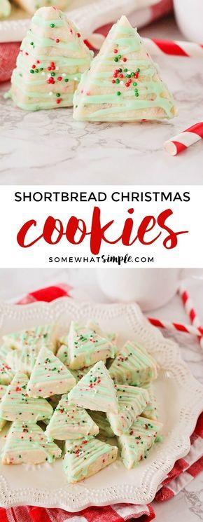 Shortbread Cookies are sweet and buttery and melt in your mouth! These Shortbread Christmas Cookies are easy to make and only require a few simple ingredients!